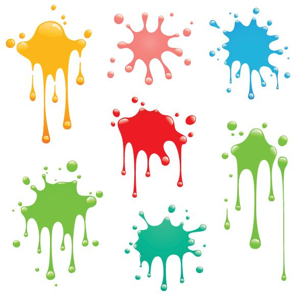 Free Vector of the Week: Paint Splatter.