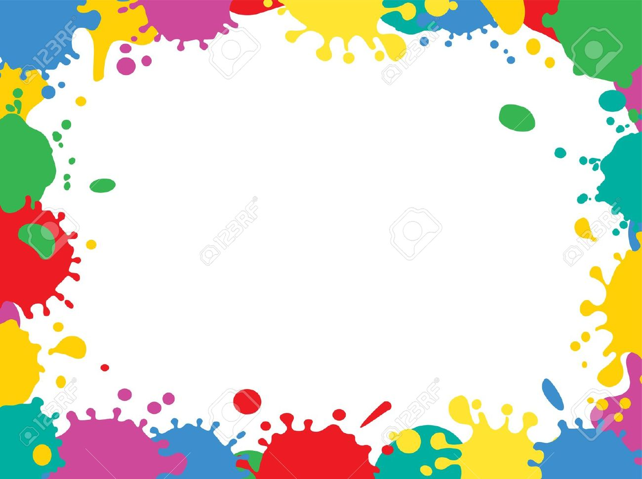 Painting Cliparts Border Free Download Clip Art.
