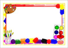 Free Painting Cliparts Border, Download Free Clip Art, Free.