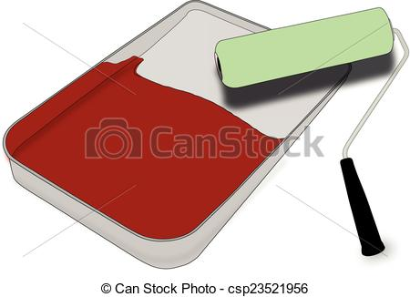 Clipart Vector of Paint.