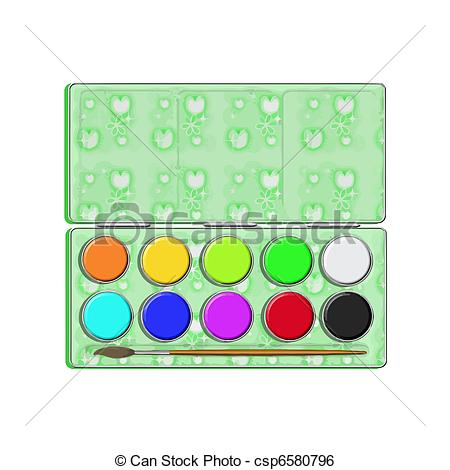 Paint box Clipart and Stock Illustrations. 10,689 Paint box vector.