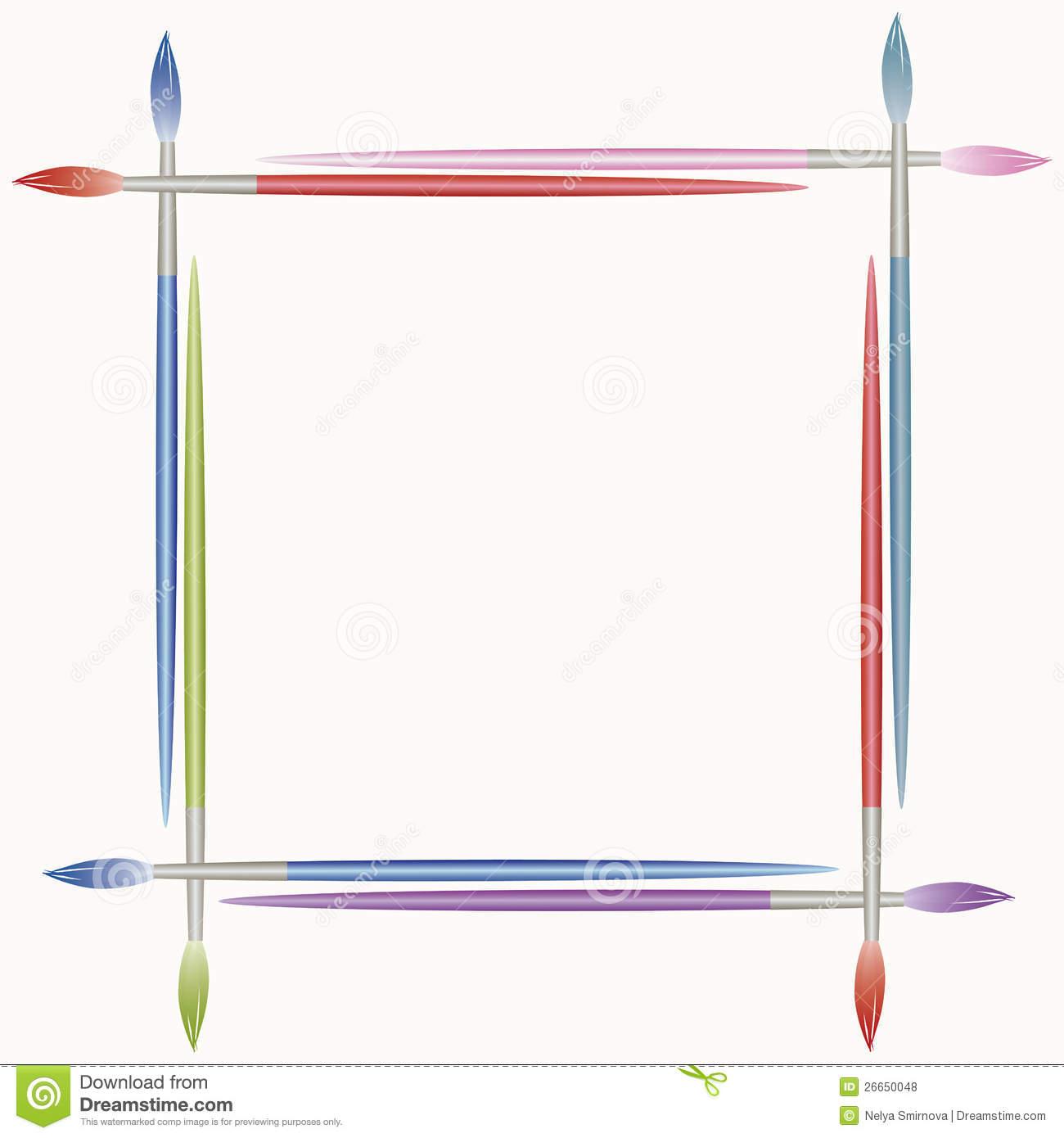 Paint Frame Clipart.