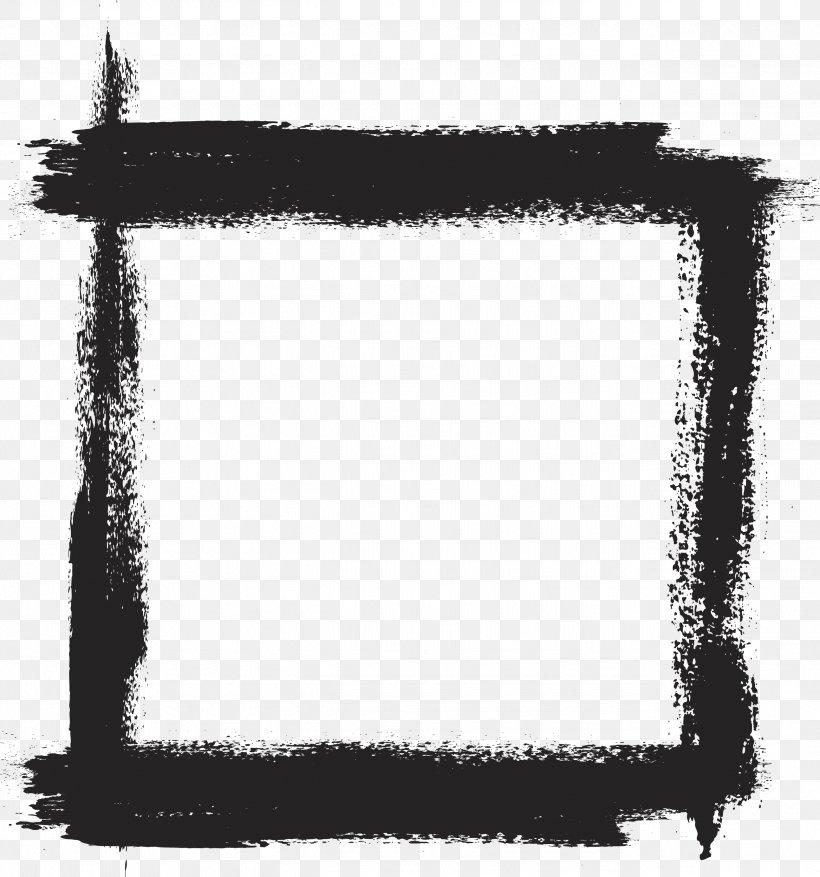 Ink Brush Paintbrush, PNG, 2586x2766px, Brush, Black, Black.