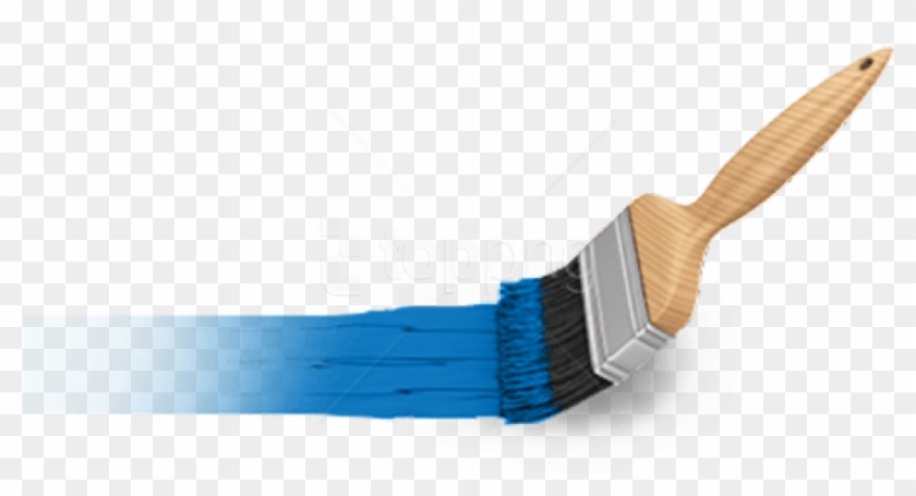 Free Png Download Blue Paint Brush Png Images Background.