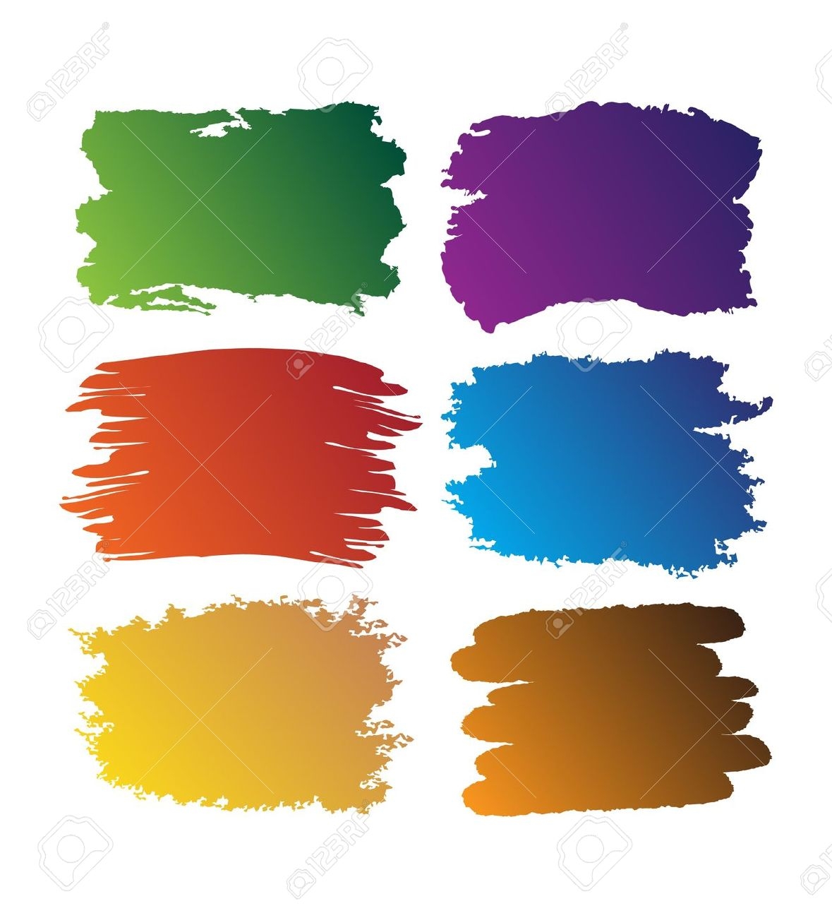 73,527 Paint Brush Stroke Stock Illustrations, Cliparts And.