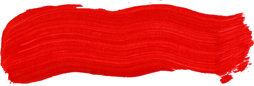 59 Red Paint Brush Stroke (PNG Transparent).