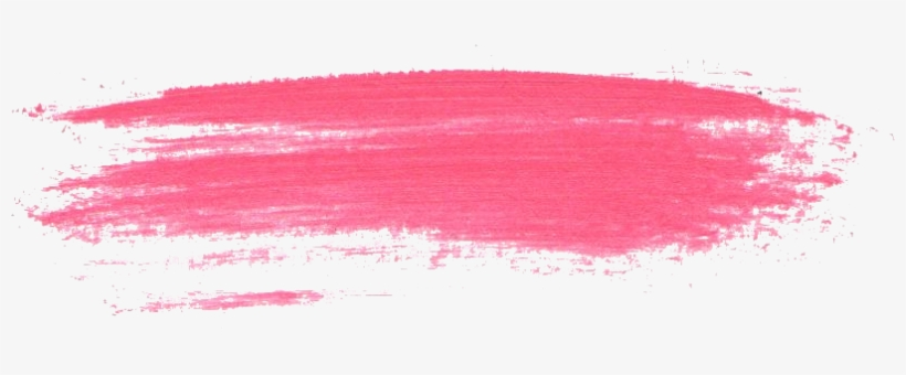24 Pink Paint Brush Stroke.