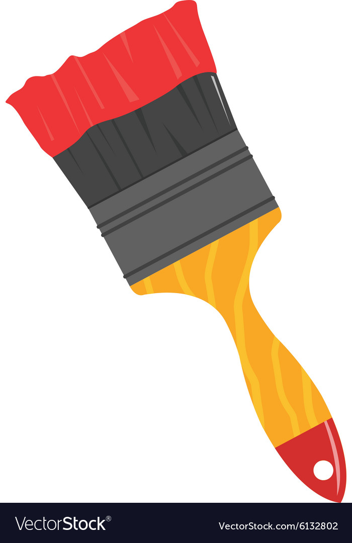 Paint Brush Vector & Free Paint Brush Vector.png Transparent.