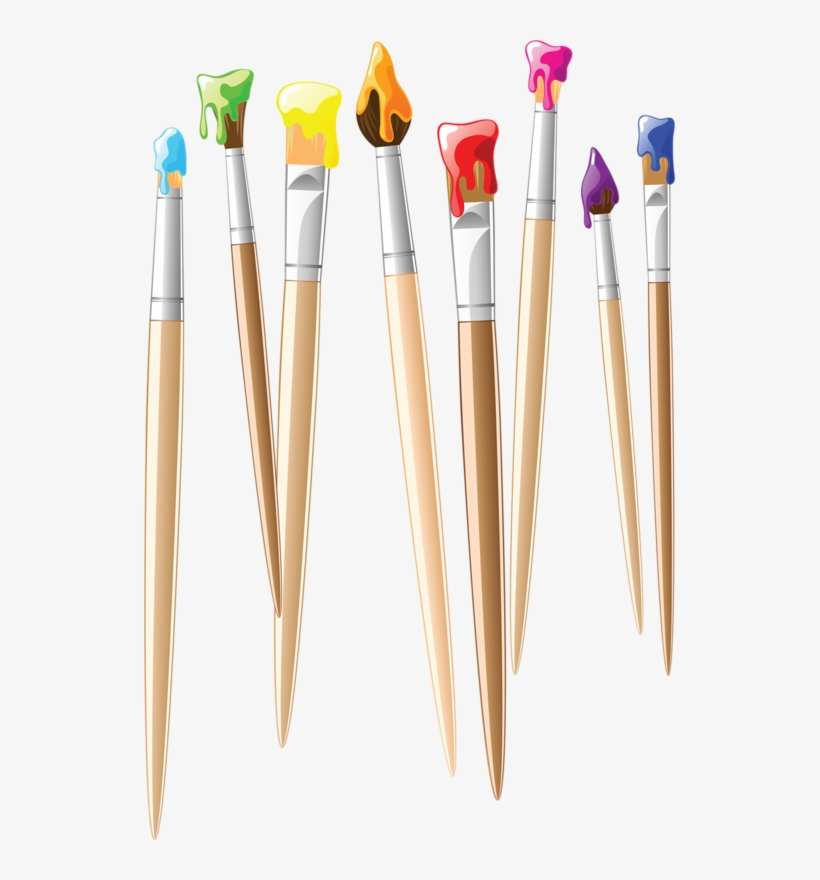 Paint Brushes Clipart Paint Brushes Painting Clip Art.