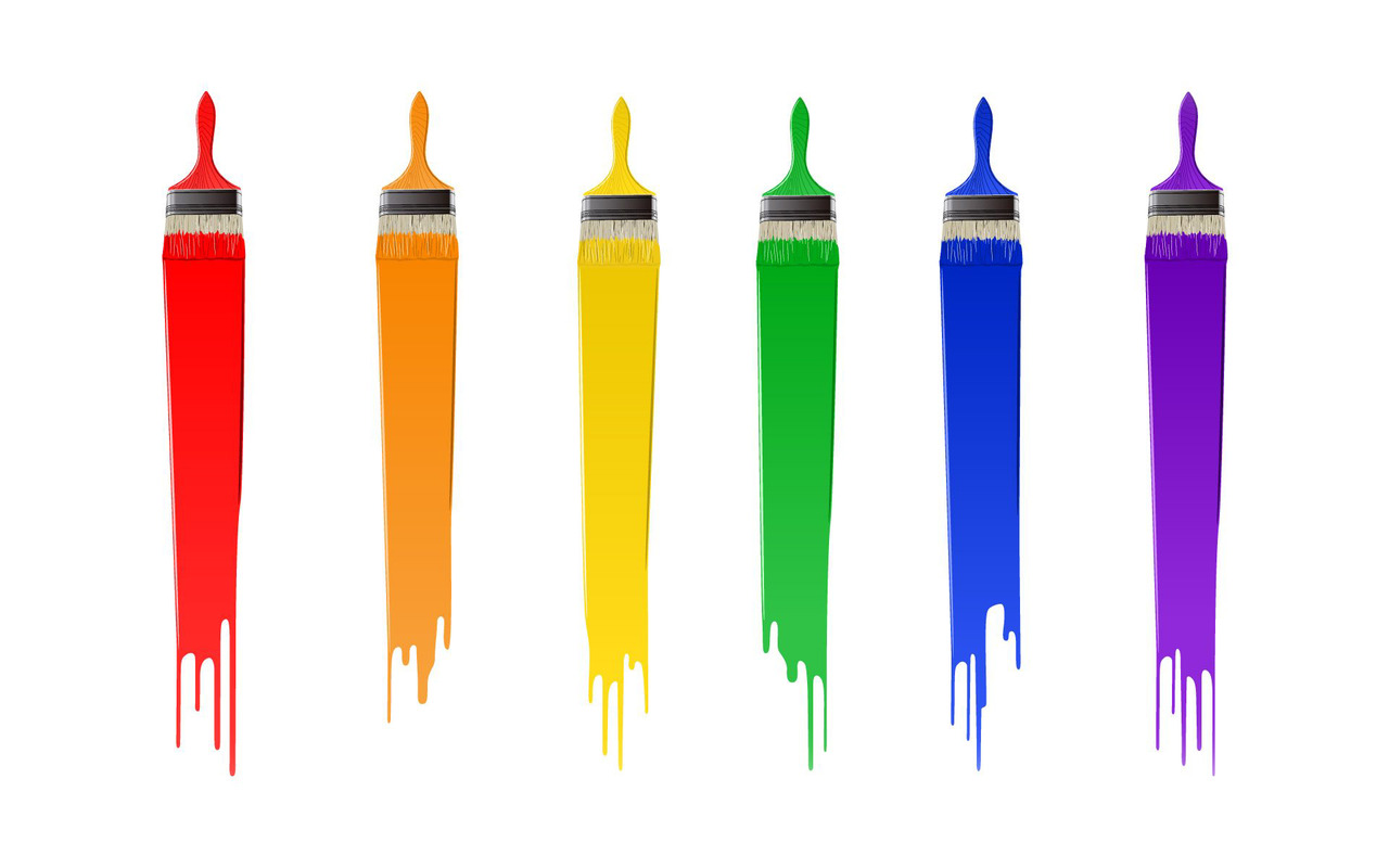 Paint Brush Clipart (7248) Free Clipart Images — Clipartwork.