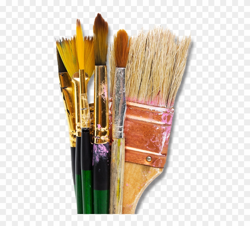 Kittle\'s Fine Art & Supply Paintbrushes.