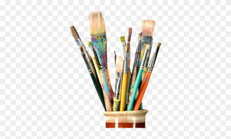 paintbrushes #art #pngs #png #lovely Pngs #usewithcredit.
