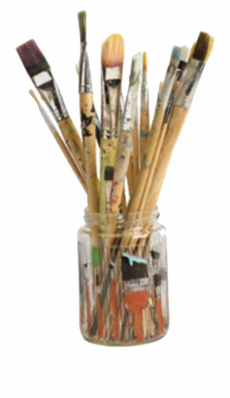 aesthetic #png #polyvore #paintbrush #art #warm.