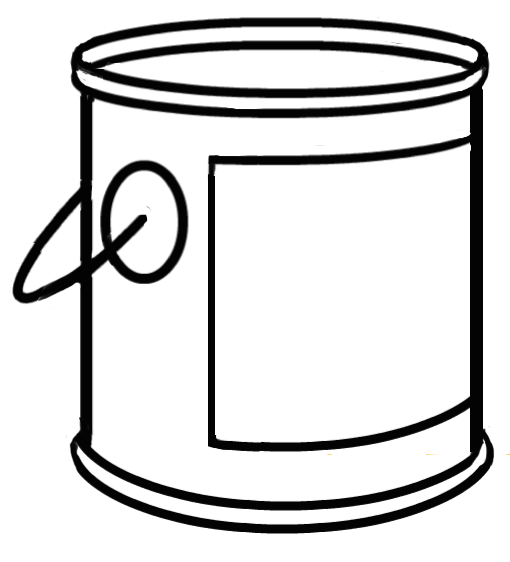 paint bucket clipart - Clipground