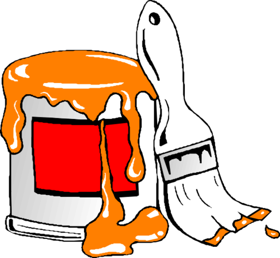 Paint Bucket Clip Art.