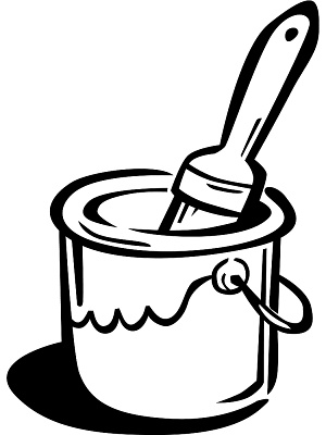 Paint Bucket Clipart.