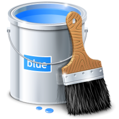 Paint bucket png image.