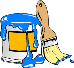 Paint Can Brush Clip Art at Clker.com.