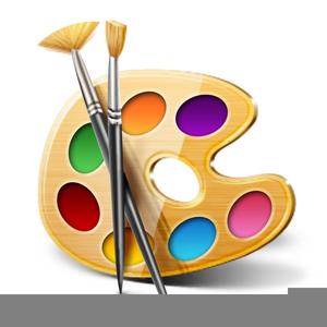 Paint Brush Clipart Free.