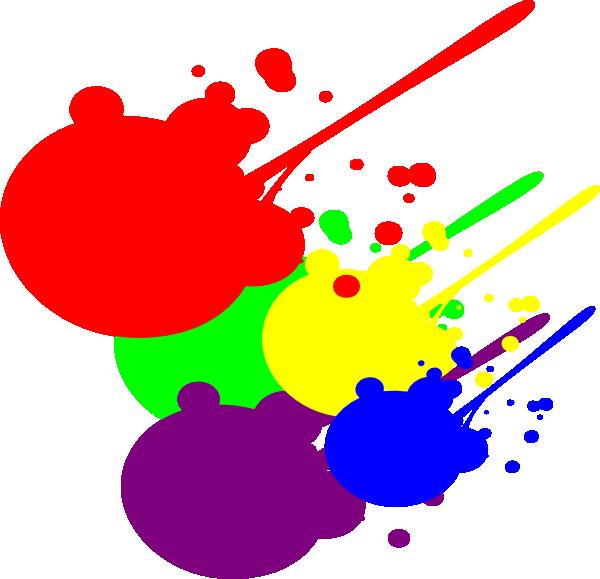 Paint Splatter clip art.