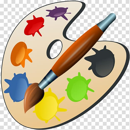 Palette Painting Art , painting transparent background PNG.