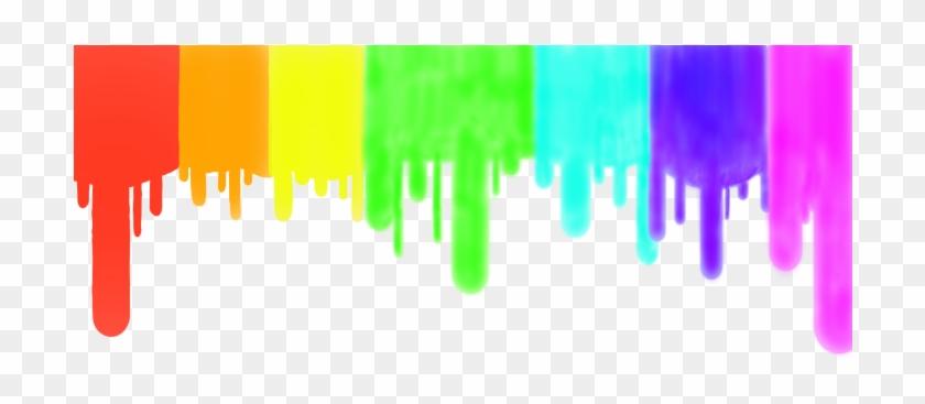 Neon Clipart Paint Drip.