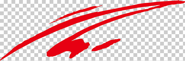 Red Line Curve , Red lines, red paint slash PNG clipart.