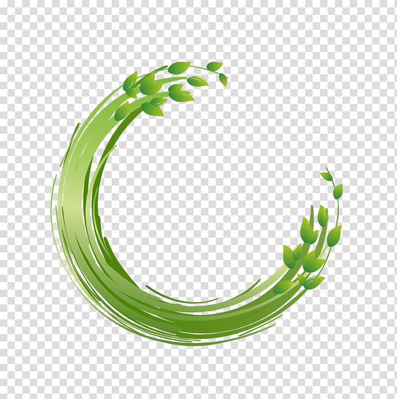 Circle Paint.net Computer file, painted green circle, green.