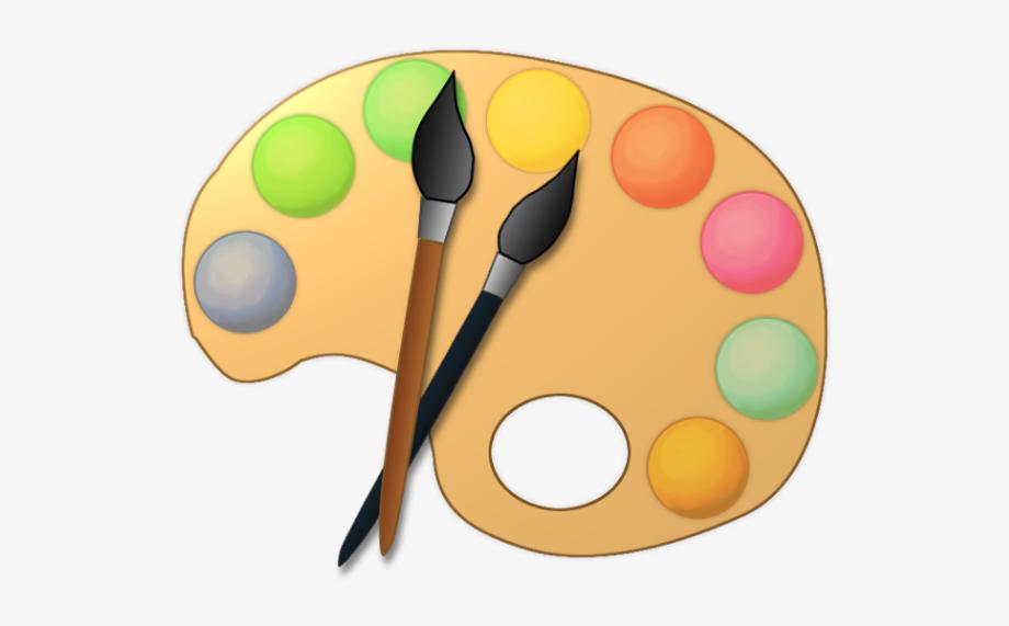 Clip Art Artist Paint Palette Clipart Kid.