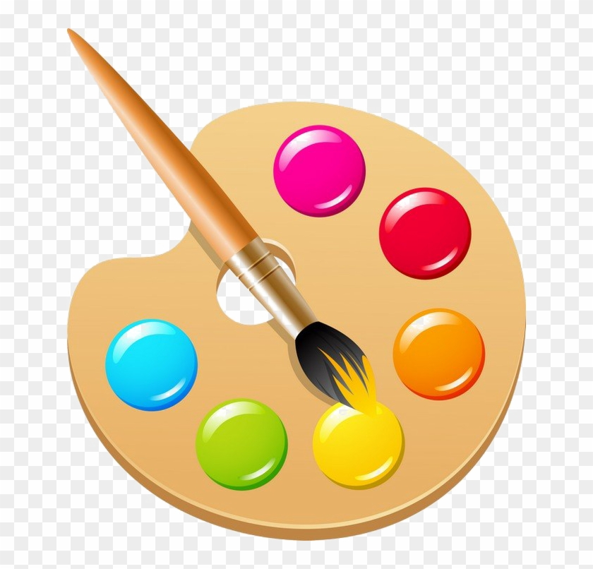 Paint Palette Png Photos.