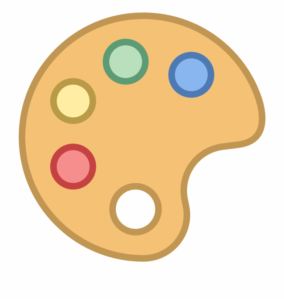 Paint Palette Icon.