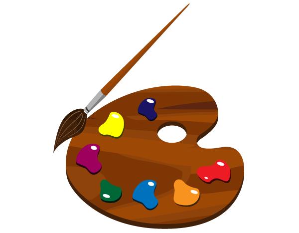 Paint Palette Clip Art Free.