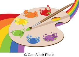 paint party clipart #2
