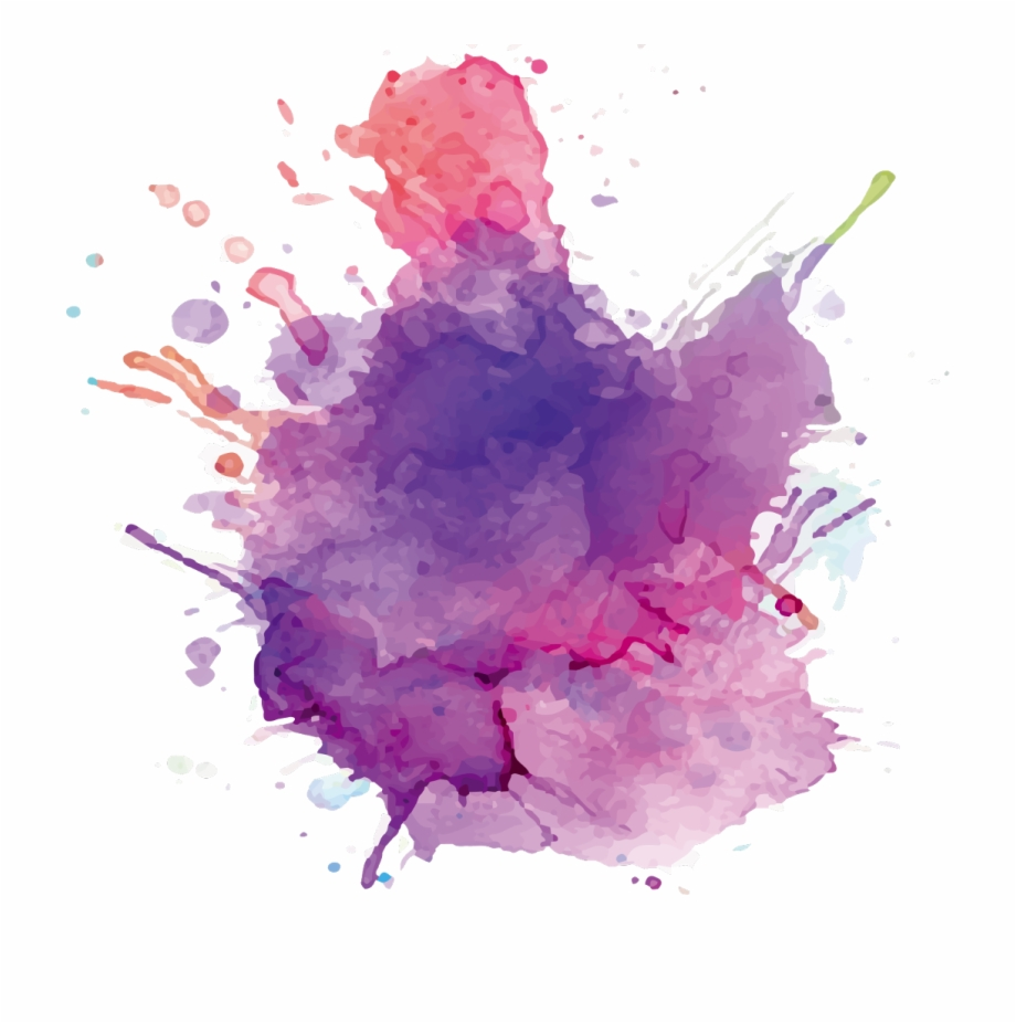 Watercolor Splatter Transparent Free PNG Images & Clipart.