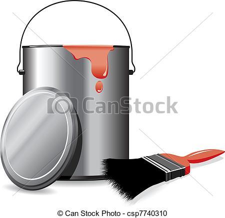 Paint pot Vector Clipart Illustrations. 1,998 Paint pot clip art.