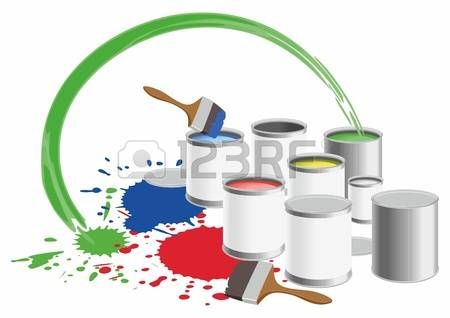 2,886 Paint Pot Cliparts, Stock Vector And Royalty Free Paint Pot.