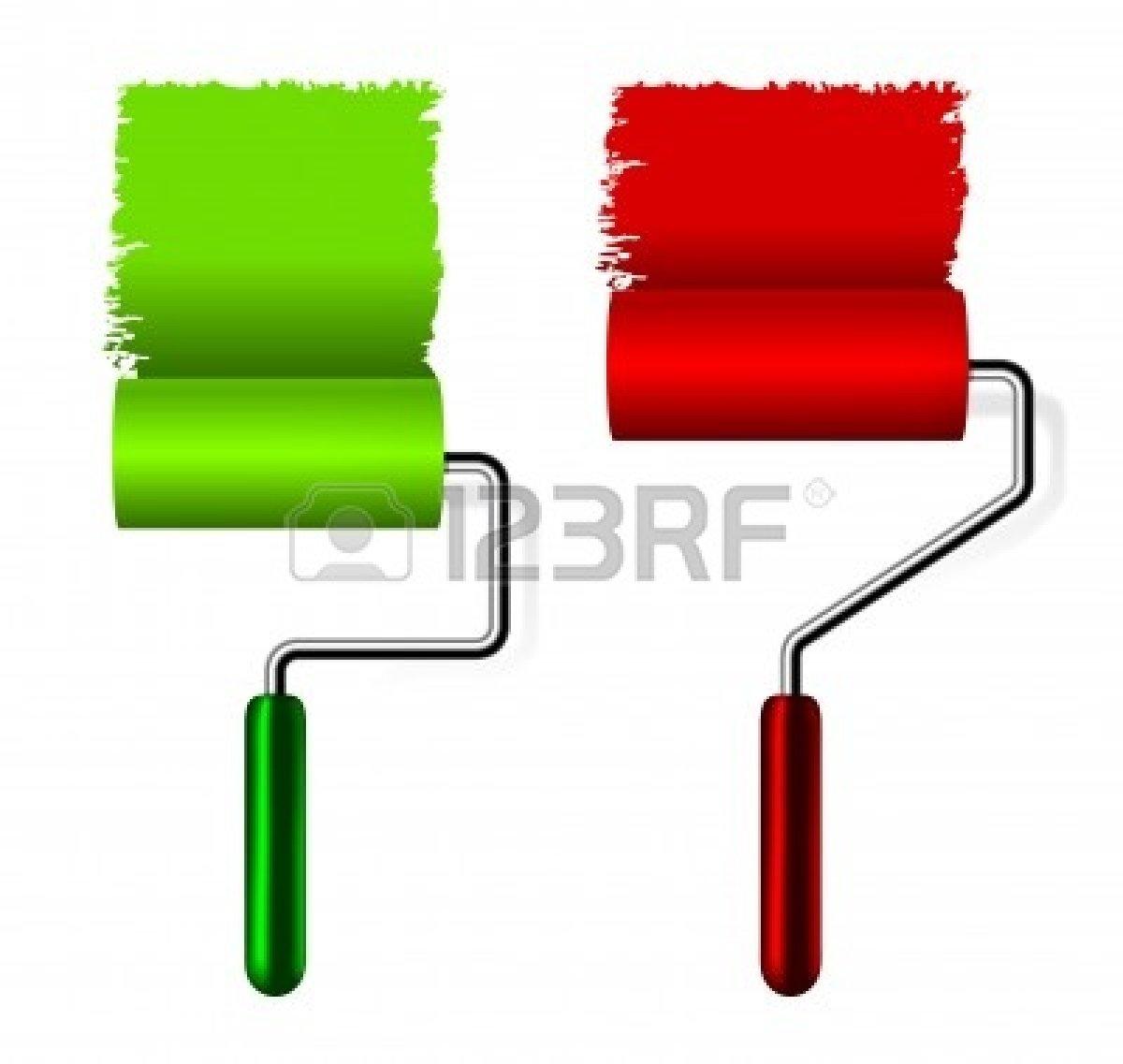 Paint Roller Clipart.