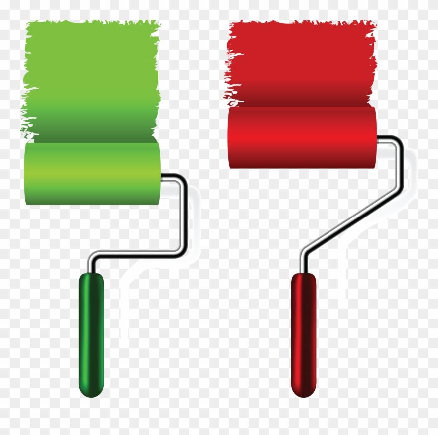 Clipart Rainbow Brush Stroke.