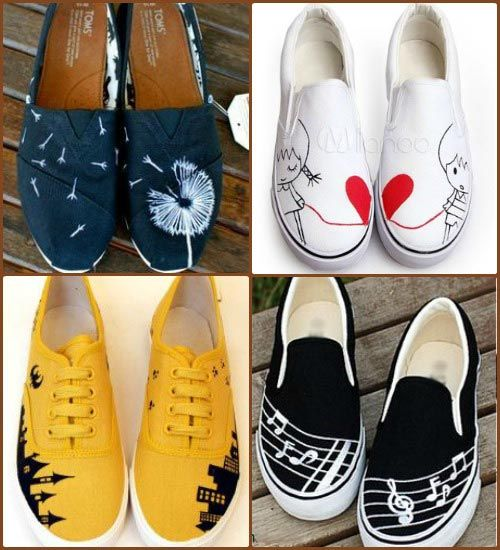 1000+ ideas about Painted Sneakers on Pinterest.