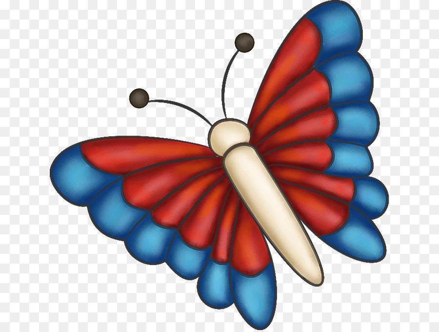 Monarch butterfly PaintShop Pro Clip art.