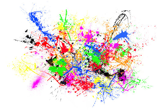 Download Free png Colorful Paint Splatter Png i.