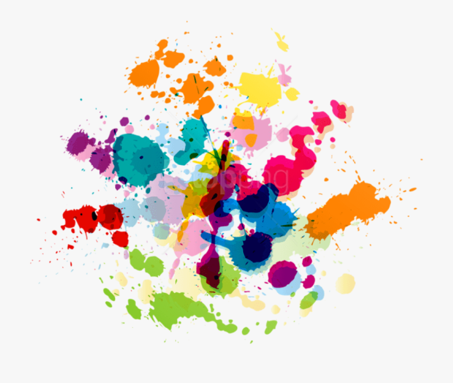 Transparent Ink Splatter Png.