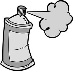 Spray paint can clipart 3 » Clipart Station.