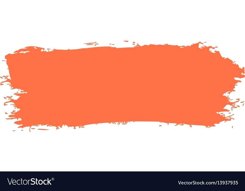 red paint brush.