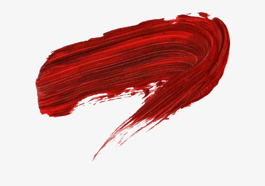 Red Paint Stroke Png.