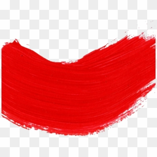 Free Red Paint Stroke Png Transparent Images.