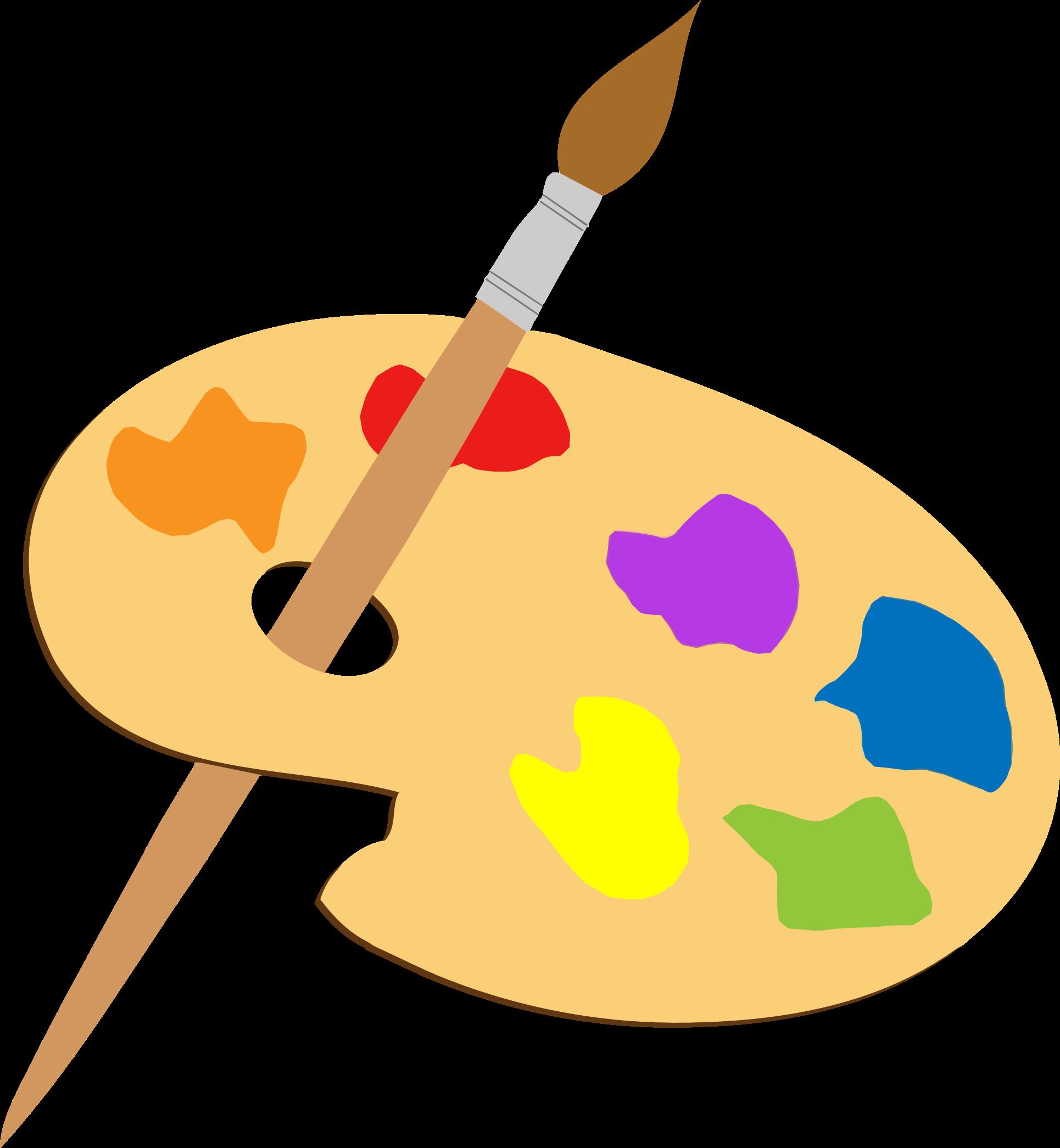 Paint Palette Clipart Png.