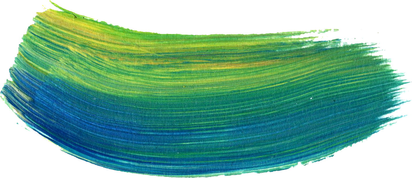 20 Paint Brush Strokes (PNG Transparent).