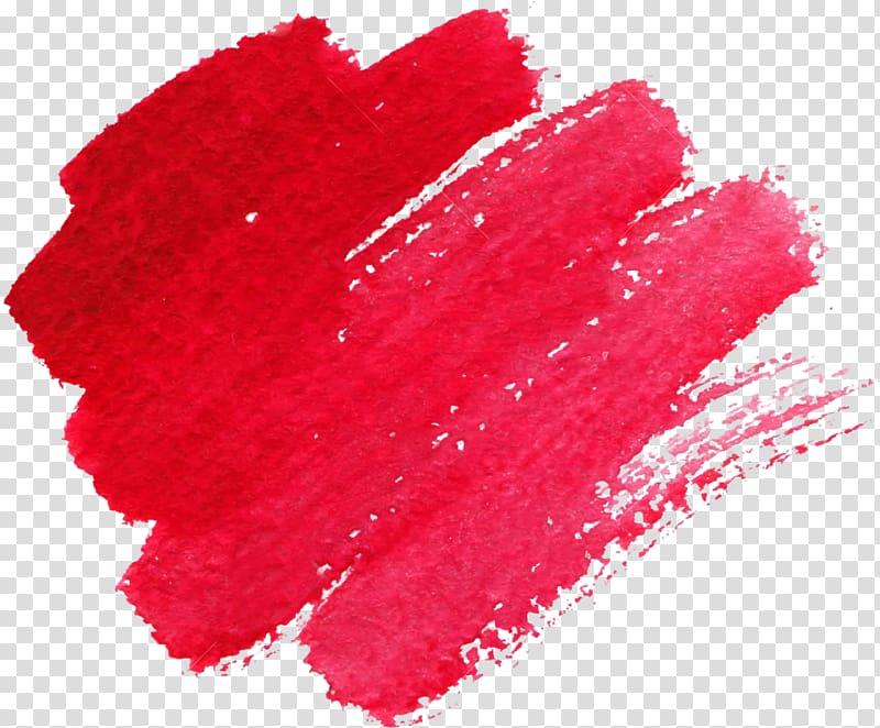 Watercolor painting Brush Texture, Watercolor painting.