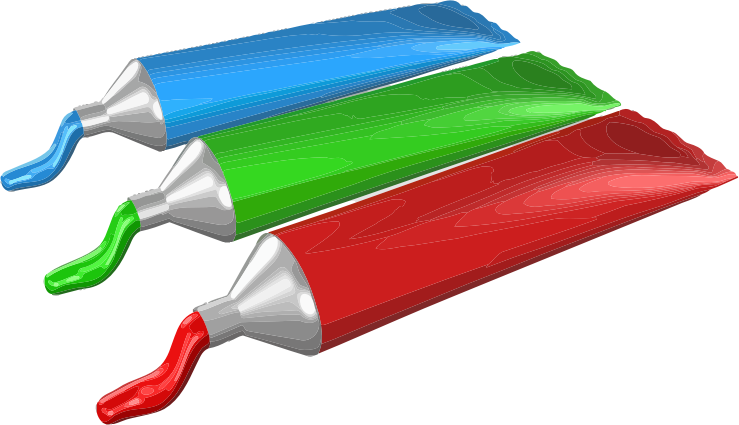 Paint Tube Clipart.